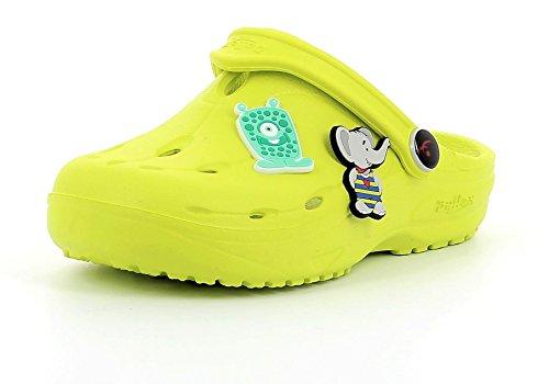 Chung Shi Dux Kids Schuh-Shibit-Set 7910170 Jungen & Mädchen Kinder Clogs & Pantoletten Lime (Grün), 24/25