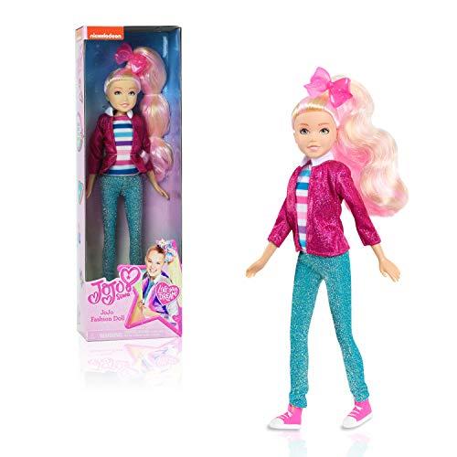 JoJo Siwa Fashion Doll, Shimmer & Sparkle, 10-Inch Doll