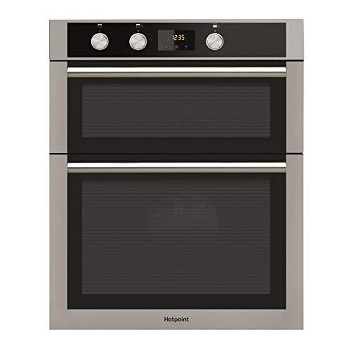 41r7qajzEkL. SS500  - Hotpoint DD4544JIX Electric Built-in Double Oven - Stainless Steel