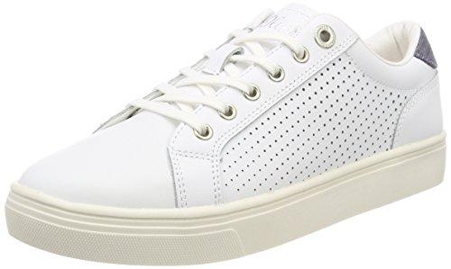 s.Oliver Damen 23620 Sneaker, weiß (white nappa), 40 EU