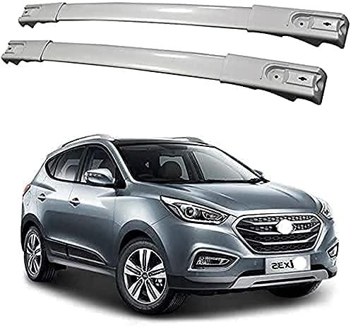Auto Dachboxenzubehör Dachträger Gepäck für Hyundai IX35 2011-2016, Aluminium Quer Fahrradträger Transport Dachträger Autozubehör