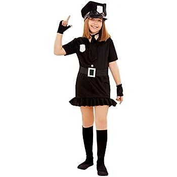 Disfraz de Policía para niñas en varias tallas: Amazon.es ...