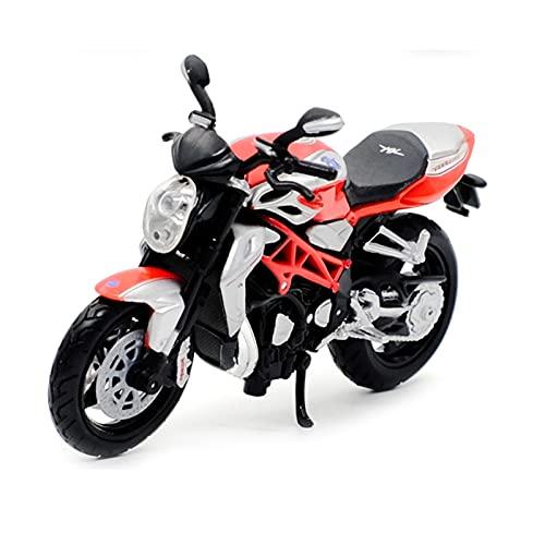El Maquetas Coche Motocross Fantastico 1:18 para Agusta Brutale-1090RR aleación Street Sports motocicleta modelo bicicleta juguete para niños colección decoración regalo Regalos Juegos Mas Vendidos
