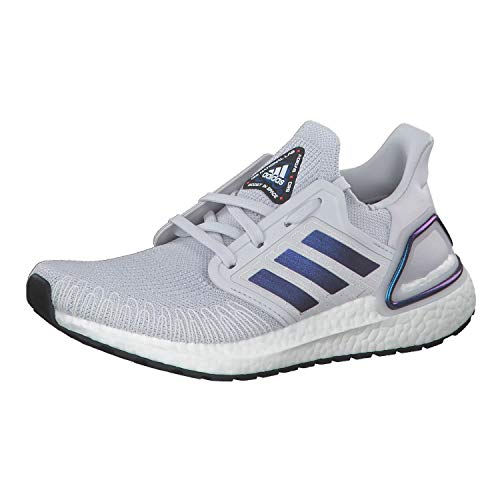 Adidas Ultraboost 20 W, Zapatillas Running Mujer, Gris (Dash Grey/Boost Blue Violet Met./Core Black), 37.33 EU