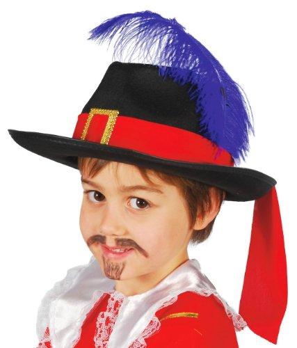 Chapeau Mousquetaire Enfant Noir