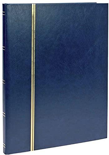 SAFE-ID - 158-4 Articles de collectionneurs - Classeur pour timbres 16 pages fond - Noir