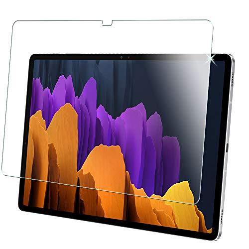 TECHGEAR Vidrio Compatible con Samsung Galaxy Tab S7+ 12.4' 2020 (SM-T970 / SM-T975) Protector de Pantalla Vidro Templado [Dureza 9H] [Alta Definición][Resistente a los arañazos] [Sin Burbuja]