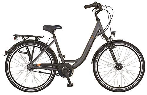 """Prophete Damen GENIESSER 20.BMC.10 City Bike 28"""" Fahrrad, anthrazit, RH 50"""