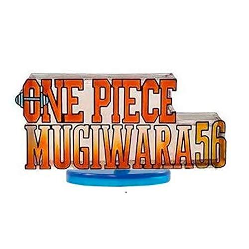 Action figure one piece wcf mugiwara 56 logo