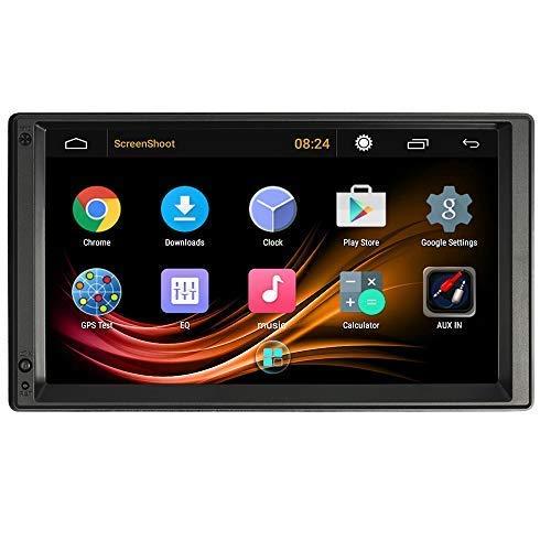 VISLONE Radio de Coche 2 Din Android Pantalla de 7 Pulgadas 1G / 16G 4 Core Multimedia Radio de Coche GPS Navegación Entretenimiento Multimedia con WIFI FM / AM Mirror Link Music Video