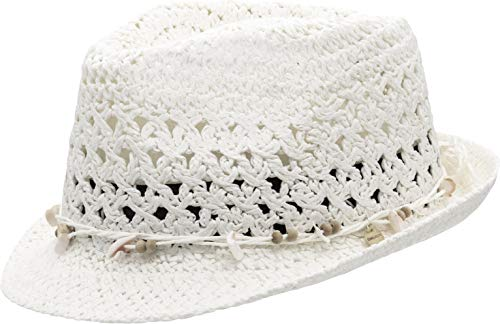 CHILLOUTS Damen Pescara Sonnenhut, 31 White, XS