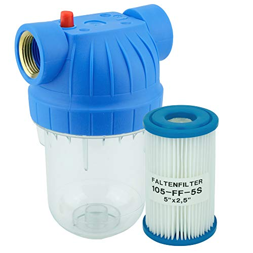 FILTROTECH Wasserfilter 5 Zoll Anschluss 1