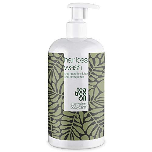 Champú Hair Loss para hombres y mujeres, 500 ml | Ideal para personas con problemas de caída del cabello o cabello muy débil y delgado | Complementa otros tratamientos para el crecimiento capilar