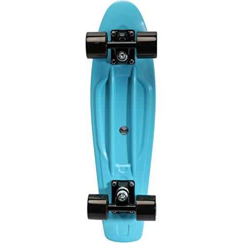 Area Skateboard-Komplettset blau Einheitsgröße