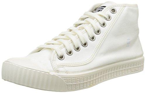 G-STAR RAW Herren Rovulc Hb Mid Hohe Sneakers, Weiß (White 110), 46 EU