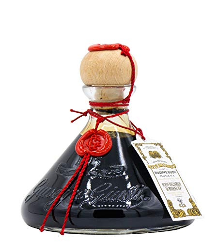 Giusti - Vinagre Balsámico de Módena IGP - 2 Medallas de Oro - 250 ml Zucchetta