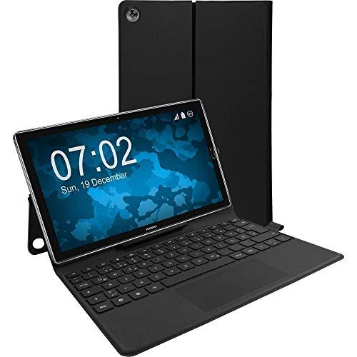 Fine Triumph Technology KH0H Huawei MediaPad M5 Pro Folio Keyboard Tastatur Bookcover