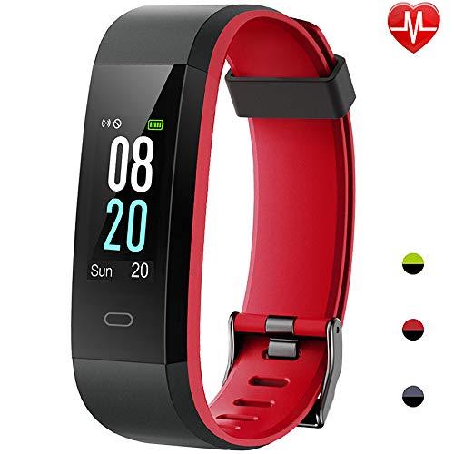 Willful Smartwatch Orologio Fitness Uomo Donna Cardiofrequenzimetro da Polso Activity Tracker Contapassi Calorie Orologio Sportivo Braccialetto Fitness Impermeabile IP68 per Android iOS Telefono