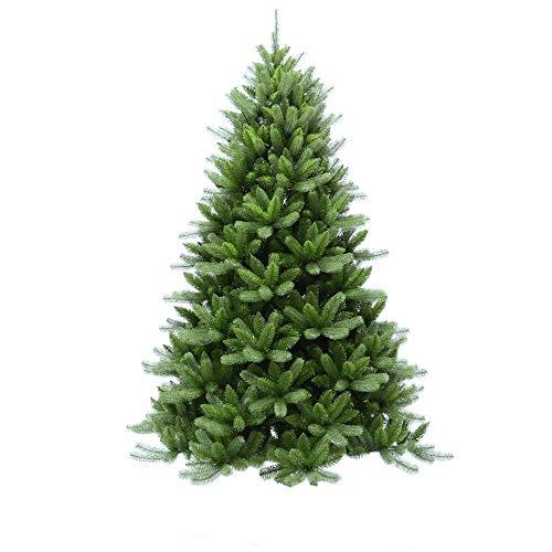 Scaramuzza Modo Albero di Natale 270 cm MOD. Cortina Artificiale Misto PVC Molto Folto e Realistico Colore Verde Vivo