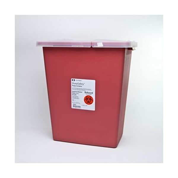 buy  Kendall Sharps Container 8 Gallon Red – ... Diabetes Care