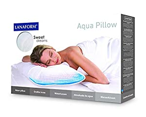 Lanaform Oreiller à eau water pillow Aquapillow