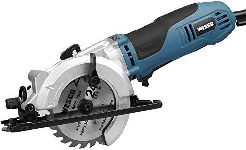 Mini Circular Saw, WESCO 4-1/2