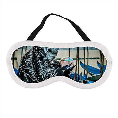 Tragbare Augenmaske für Männer und Frauen, Masken und Kostüme bei Karneval in Venedig, die beste Schlafmaske für Reisen, Nickerchen, geben Ihnen die beste Schlafumgebung