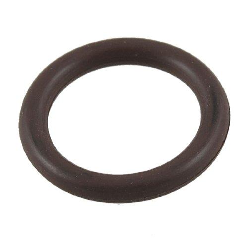 sourcing map - Flúor caucho o aceite de anillo de juntas de sellado de 22 mm x 16 mm x 3 mm
