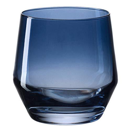 LEONARDO Trinkglas PUCCINI, Glas, Trinkgefäß, Wasserglas, Kristallglas, Blau, 240 ml, 028726-1 Stück