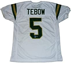 Tim Tebow Autographed Signed Auto Nease High School White #5 Jersey 05 State Champs Tebow Holo - Certified Authentic