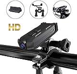 Action-Kameras Fahrrad-Sportkamera 1080P HD-Kamera Kleiner tragbarer Sicherheitsvideorecorder Outdoor-Action-Kamera Geeignet für Motorrad/Helmkamera/Fahrradkamera