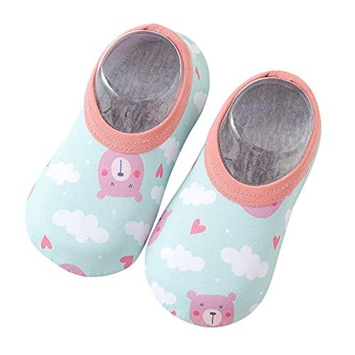 Zapatos de playa para niños y bebés, zapatos de baño, zapatos de agua, zapatos de secado rápido, antideslizantes, zapatos para niños, para la playa o la piscina, color Multicolor, talla 32 EU