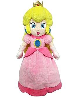 Sanei Super Mario All Star Collection - AC05 - 10  Princess Peach Small Plush,Pink