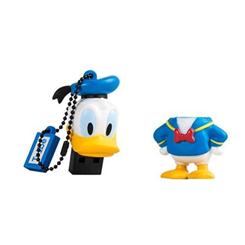 Chiavetta USB 16 GB Paperino (Donald Duck) - Memoria Flash Drive 2.0 Originale Disney, Tribe FD019505