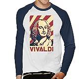 Photo de Cloud City 7 Antonio Vivaldi Retro Propaganda Poster Men's Baseball Long Sleeved T-Shirt