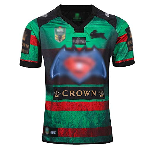 ZZNB NRL Rugby Jersey Rabbits, Rugby Jerseys, South Sydney Second Team, Men