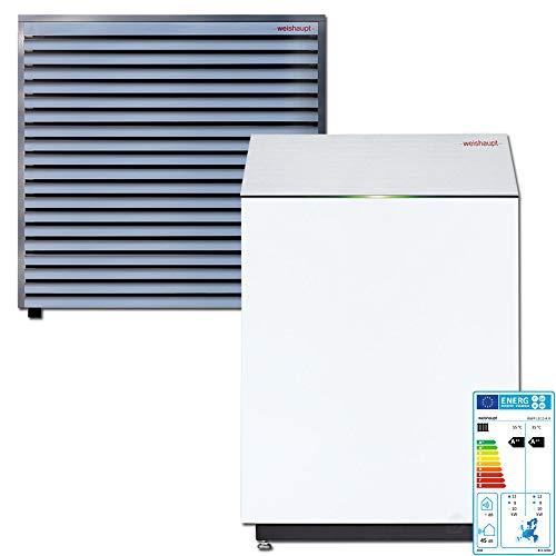 Weishaupt Paket Luft/Wasser-Wärmepumpe Biblock WWP LB12-A R 3-12 kW