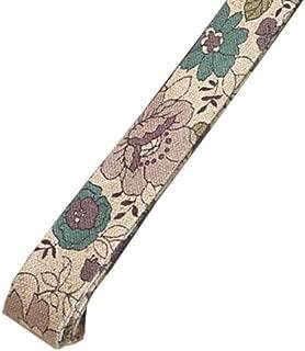 ナチュラルパープル-3 有輪YUWA シャモニー綿麻バイアステープ 両折15ミリ幅 1.6m