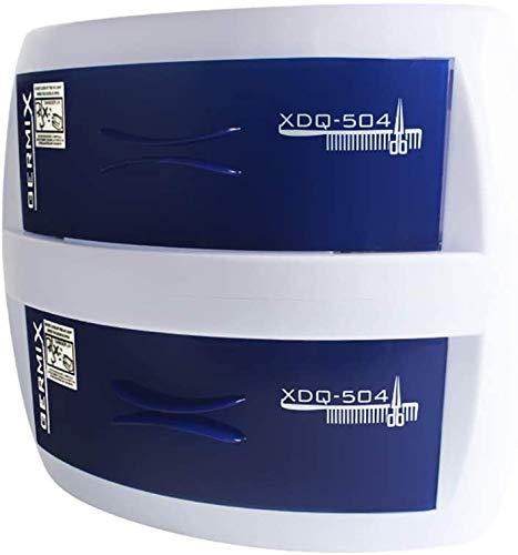 OPARYY UV-Sterilisator Sicherheit, Sterilisator für Kastennagelkunst für Sterilisator UV-Licht Werkzeuge Smartwatches, Kopfhörer, Tasten, 2 Ebenen