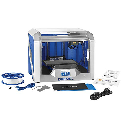 Dremel Digilab 3D40 Award Winning 3D Printer, Idea Builder with semi automated Leveling, Print PLA at 100 Micron Resolution