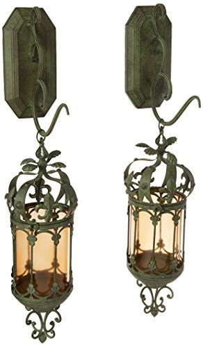 Design Toscano Crown Royale Hanging Pendant Lantern (Set of 2)
