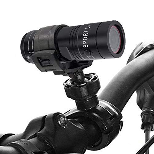 Lantro JS Cámara 1080P, cámara de los Deportes de la Linterna 1080P 30FPS de HD para Andar en Bicicleta para Exteriores