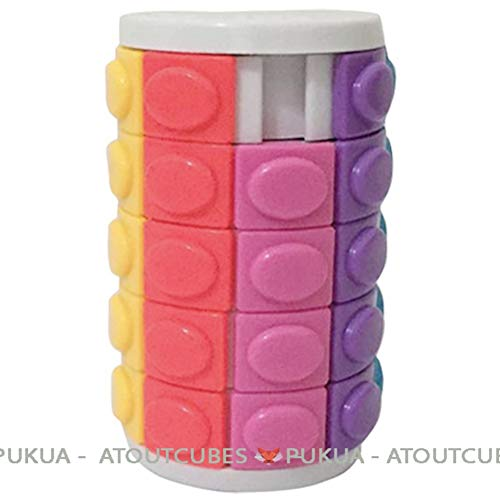 R.Y.Toys Tour Magique Rotate and Slide X-Cube Magic Cube Atoutcubes, Blanc, 5 étages