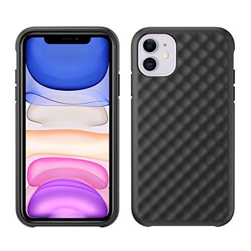 Pelican iPhone 11 Case, Rogue Series – Military Grade Drop Tested, TPU Protective Case for Apple iPhone 11 - Photoluminescent, Black