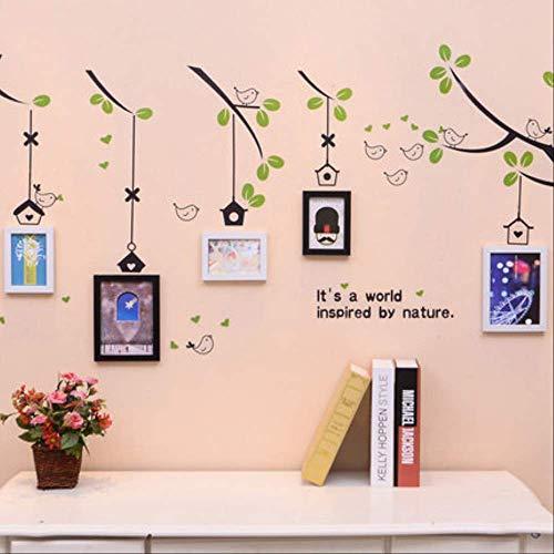 YKDDII Fotolijsten 5 stks Fotolijst Voor Bruiloft Decoratie Fotolijsten Voor Schilderijen Wandbeeld Met Stickers Klassieke Mode Multifunctionele Fotolijst