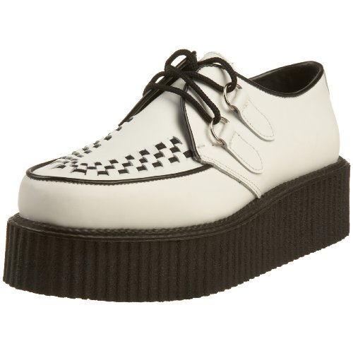 Demonia Creeper-402 - Gotica Punk Creeper Zapatos Unisex - tamaño 36-46, US-Herren:EU-37 (US-M5)
