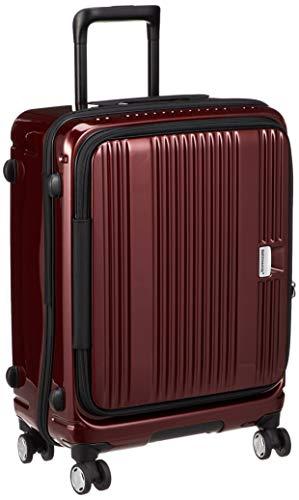 [バーマス] スーツケース ジッパー ユーロシティ フロントオープン 4輪 60291 55L 54 cm 3.3kg レッド