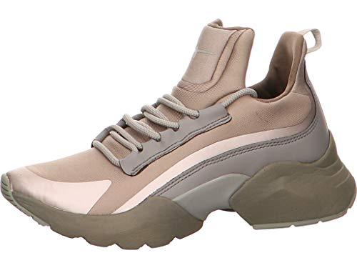 Tamaris Damen Sneaker Fashletics 1-1-23723-23/477 braun 718175