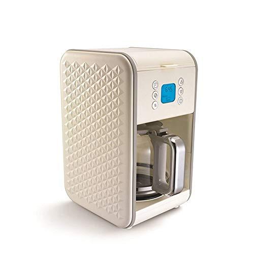 LLCX Coffee On The Go Filterkaffeemaschine Multifunktionale Espresso- und Teemaschine Vector Inverted Coffee Machine Kaffeemaschine aus schwarzem und gebürstetem Edelstahl,Beige