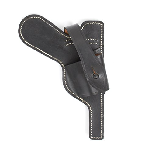 German WWII Luger P08 Paratrooper Open Holster